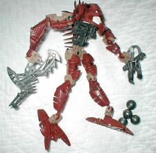 LEGO BIONICLE 8904 PIRAKA AVAK WITH SEISMIC PICKAXE JACKHAMMER complete figure