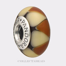 Authentic Pandora Silver Murano Captivating Amber Bead 790638 50% OFF CLEARANCE!