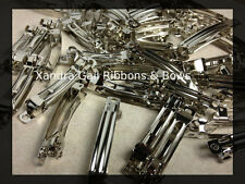 "50  - French Style Clips Barrettes for Hair Bows Hairbow -  50mm- 2"" inch"