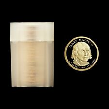 2007 S  James Madison ~ Gem Proof Roll ~ 20 Unsearched Proof Coins