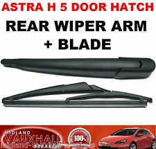 VAUXHALL ASTRA H 5 DOOR HATCHBACK REAR WINDOW WIPER ARM & BLADE SRI SXI CDTI