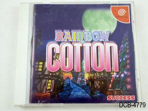 Rainbow Cotton Dreamcast Japanese Import JP Success Japan Sega DC JP US Seller B