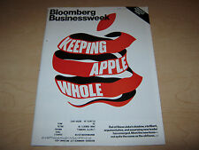 Bloomberg Businessweek Keeping Apple Whole  October 17-23, 2011