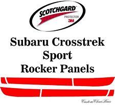 3M Scotchgard Paint Protection Film Clear 2021 2022 Subaru Crosstrek Sport