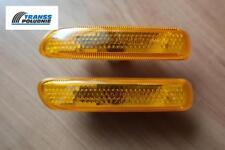 ORANGE SIDE LIGHT REPEATER INDICATORS SET BMW 3 (E46) 98-04 OE: 63138370719