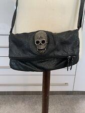 Skull Handbag In black