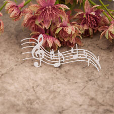 Metal Music Notes Cutting Dies Template Scrapbook Embossing Paper Card AlbumQM