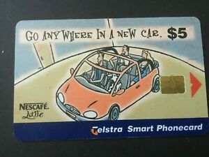 Telstra Nescafe Hanging with Billy 99005010N $5 Smart Phonecard