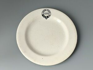 """Vintage Furness Railway Refreshment Department Plate 7 1/4"""" by Waring & Gillow"""