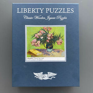 Liberty Puzzles Classic Wooden Jigsaw Puzzle, Oleanders, 435 pieces