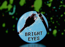 "BRIGHT EYES 1"" DIGITAL ASH PROMO PIN BUTTON Conor Oberst Desaparecidos The Faint"