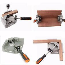 90 Degree Corner Right Angle Carbide Vice Clamps Woodworking Frame Gussets Tool