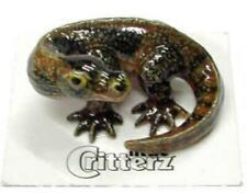 "Little Critterz Miniature Porcelain Animal Komodo Dragon ""Indonesia"" LC327"