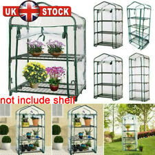 More details for 4/5 tier mini greenhouse plants grow house pvc plastic outdoor steel frame garde