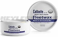 Collinite Paste Fleetwax 12 Oz 885 Heavy Duty Boat Wax Can 885# Factory Fresh