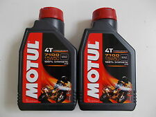 MOTUL ENGINE OIL 7100 4T 15W-50 MA2 ESTER 100% SYNTHETIC QUANTITY' from 2 L
