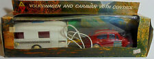 PAPPAS Bros GREEK VTG 70's B/O 14'' VW BEETLE CARAVAN WIRED R/C UNUSED WORKS MIP