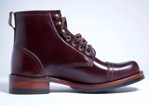 Julian Boots, Handmade, Bowery Boot, Cordovan #8