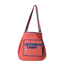 NEW Marc By Marc Jacobs Logo Large Crossbody Bag Tote Red Multi
