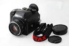 """Pentax 645NII Medium Format SLR Camera Pentax FA 75mm f2.8 """"Excellent"""" #0876"""