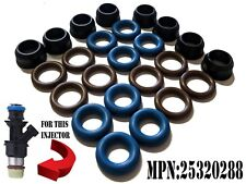 MPN: 25320288 Fuel injector repair kit seals/o-rings/Spacers For 8 Injectors