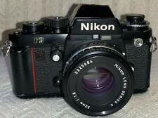 Nikon F3 35mm SLR Film Camera with 50mm f1.8 E series Lens