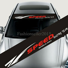 Reflective Car Styling SPEED Front Windshield Decal Vinyl Car Stickers DIY Deco