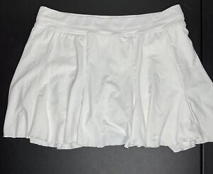 Sofibella Whie Tennis Golf Skirt Skort Size Medium