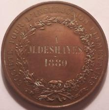 Société pour l'Instruction Elémentaire, A M Deshayes 1880 !!