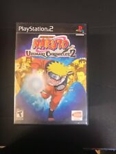 PS2 Naruto: Uzumaki Chronicles 2 COMPLETE CIB PLAYSTATION 2