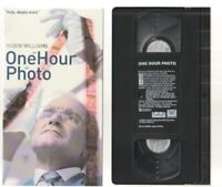 ONE HOUR PHOTO Horror VHS video Movie Gore Cult Slasher Sex ROBIN WILLIAMS