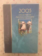 Collection of 2005 Australian Post YearBook Album with MUH Stamps - Deluxe
