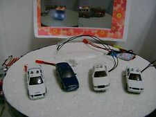 Ho scale Police cars with flashing lights
