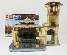Lego ® Star Wars 9516 Jabba's palace usado no figures ba pre owned