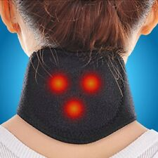 New Heating Neck Wrap Heat Brace Support Strap Pain Relief Ache Collar Strain