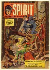 Spirit #1 1952 Good 2.0  Fiction House  Jules Feiffer Story  Eisner Shop Art