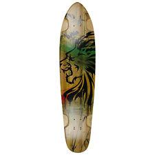 "Bustin Boards Longboard Deck Burning Spear Kicktail 9.3"" x 40"" Skateboard"