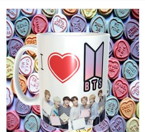 I Love BTS  mug