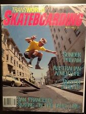 Per Welinder SF Cover October 1984 Transworld Skateboard Magazine Vintage
