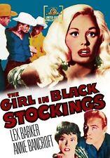 The Girl in Black Stockings 1956 (DVD) Lex Barker, Anne Bancroft - New!