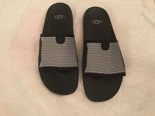 e69758e692c UGG Azul Men's Tenoch Hyperweave Flip Flop Sandals Black Treadlite US Size  11