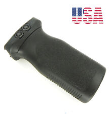 Tactical RVG Rail Vertical Grip Front Grip Forward Foregrip Picatinny Rail Black