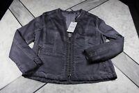 BIBA-Blazer, grau/blau, Nieten, Gr.42, NAGELNEU! NP139,95 €