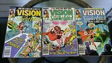 The Vision and the Scarlet Witch #4 5 6 lot of 3  Marvel comics