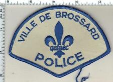 Ville de Brossard Police (Canada) Shoulder Patch from the Early 1980's