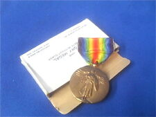 WWI US Army Victory Medal with Original Issue Box