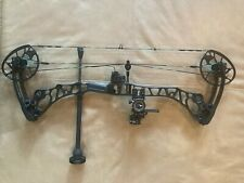 "Mathews Halon 6, 28.5"" @ 70lbs, Black, Tommy Hogg, B-Stinger, Trophy Taker Rest"