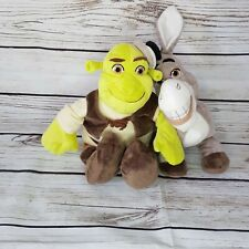Shrek and Donkey Plush Toys