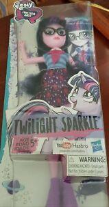 """My Little Pony Equestria Girls TWILIGHT SPARKLE 11""""  Doll! NIB! Christmas ready"""