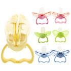Newborn Kids Portable Dummy Pacifier Nipple Baby Silicone Teether Nipple